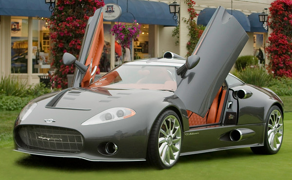 Spyker C8 at Concours d'Elegance 2008