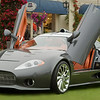 Spyker C8 at Concours d'Elegance 2008 : This has to be one of the most beautiful cars at the show.